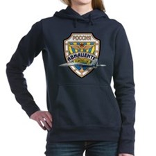 Unique Russian fighter Women's Hooded Sweatshirt