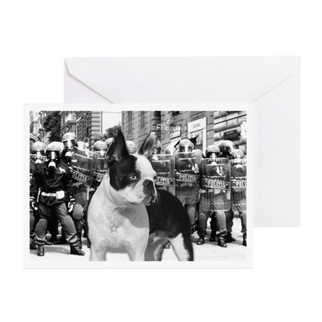 Militant Boston - Greeting Cards (Pk of 10)