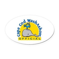 Cape Cod Washashore Oval Car Magnet