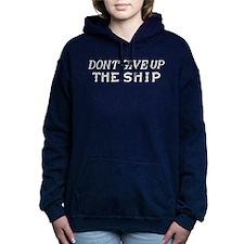 Commodore Perry Flag Women's Hooded Sweatshirt