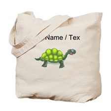 Custom Green Turtle Tote Bag