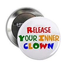 """inner clown 2.25"""" Button"""