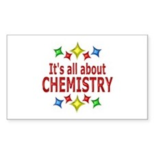 Shiny About Chemistry Decal
