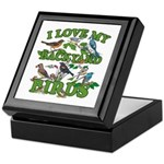 I Love My Backyard Birds Keepsake Box