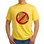 Anti-Squirrel Yellow T-Shirt
