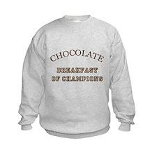 Breakfast Champions Chocolate Sweatshirt