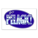 Go Pelagic! Sticker (Rectangle)