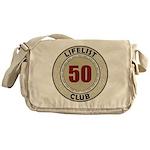 Lifelist Club - 50 Messenger Bag