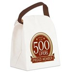 Lifelist Club - 500 Canvas Lunch Bag