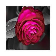 Rosy Camellia Queen Duvet