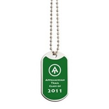 Appalachian Trail Class Of 2011 Dog Tags