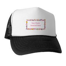 Baby Girl Border Trucker Hat
