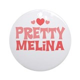 Melina Ornament (Round)