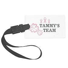 Tammys Team Sticker Luggage Tag