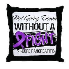 Cure Pancreatitis Throw Pillow