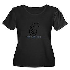 Light Clarity Silence Plus Size T-Shirt