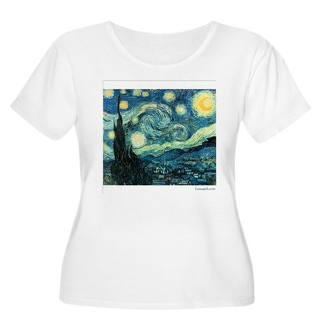 Starry Night Vincent Van Gogh Women's Plus Size Sc