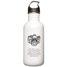 camera-quote Water Bottle