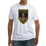USS WILLARD KEITH Fitted T-Shirt