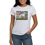Lilies & Whippet Women's T-Shirt