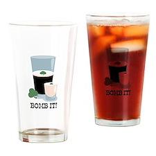Bomb It! Drinking Glass