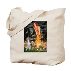 Midsummer's Eve & Whippet Tote Bag