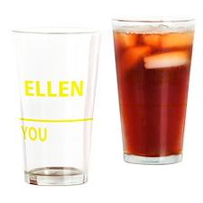 Funny Ellen Drinking Glass