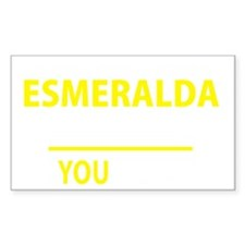Cute Esmeralda Decal
