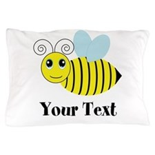 Personalizable Honey Bee Pillow Case