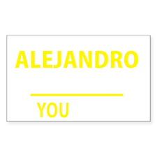 Cute Alejandro Decal