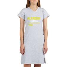 Funny Alfredo Women's Nightshirt