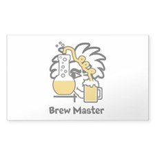Custom Brew Master Decal