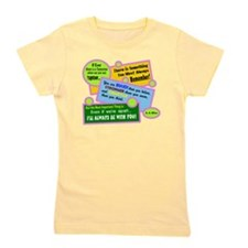 Always Be With You-A. A. Milne Girl's Tee