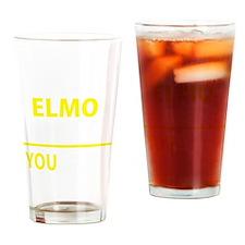 Cute Elmo Drinking Glass