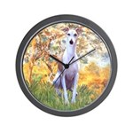 Spring / Whippet Wall Clock