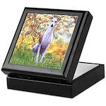 Spring / Whippet Keepsake Box