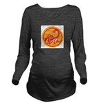 African Terrorist Hu Long Sleeve Maternity T-Shirt