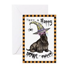 Unique Scottie art Greeting Cards (Pk of 20)