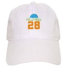 Volleyball player number 28 Baseball Cap