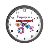 Property of FF's Baby! Wall Clock