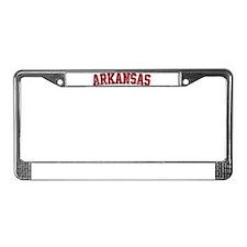 Arkansas - Jersey License Plate Frame
