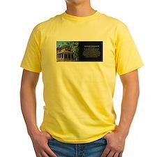 The Benjamin Harrison Home Historical Mug T-Shirt