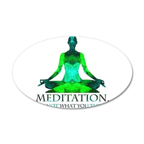 Meditation Wall Decal
