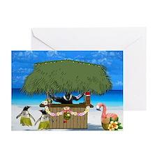 Tropical Christmas Greeting Cards