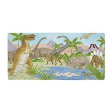 Dinosaur Beach Towel