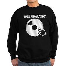 Custom Spinning A Record Sweatshirt