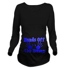 Hands Off The Bump Long Sleeve Maternity T-Shirt
