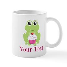 Personalizable Cupcake Frog Mugs
