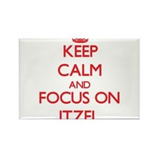 Keep Calm and focus on Itzel Magnets