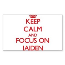 Keep Calm and focus on Jaiden Decal